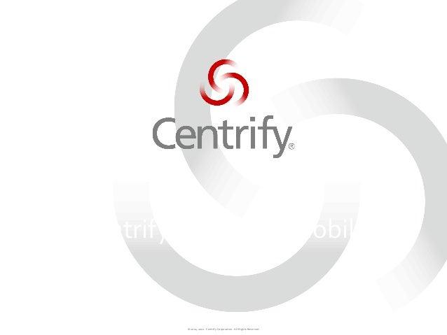 Centrify for mac & mobile   pt br