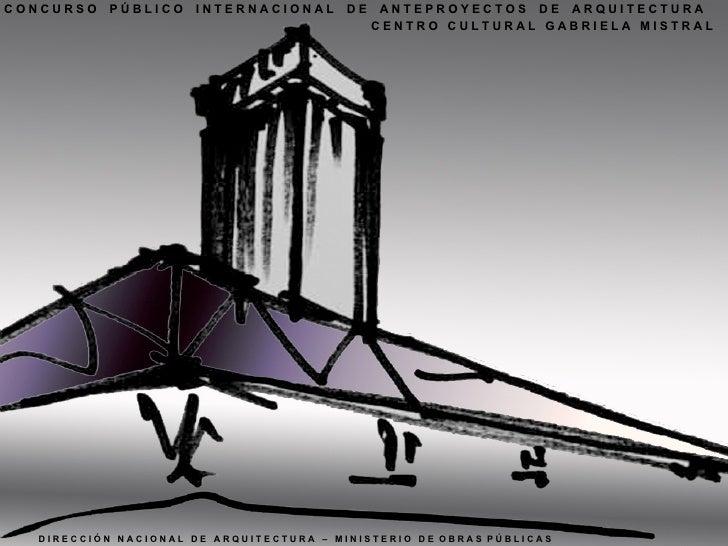 Centro Cultural Gabriela Mistral Proyecto Destacado Iglesisprat