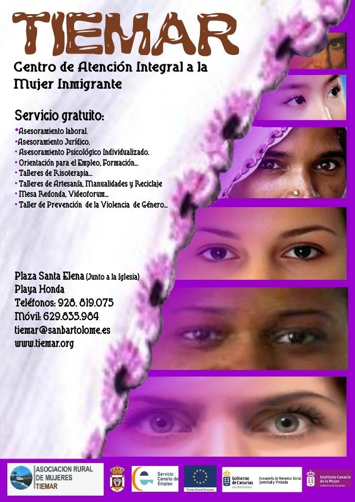 Centro De AtencióN Integral A La Mujer Inmigrante.Tiemar