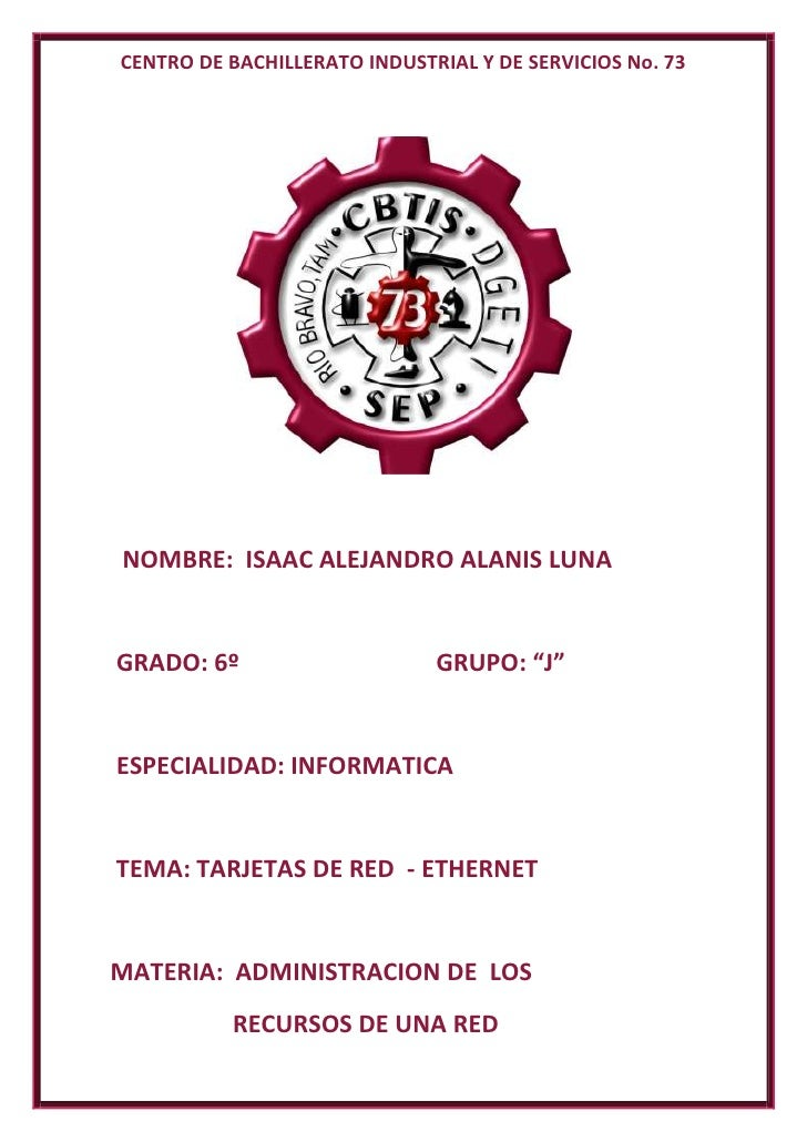 CENTRO DE BACHILLERATO INDUSTRIAL Y DE SERVICIOS No. 73<br />            NOMBRE:  ISAAC ALEJANDRO ALANIS LUNA<br />       ...