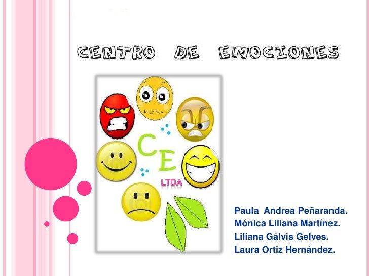 LTDA<br />Paula  Andrea Peñaranda.<br />Mónica Liliana Martínez.<br />Liliana Gálvis Gelves.<br />Laura Ortiz Hernández.<b...