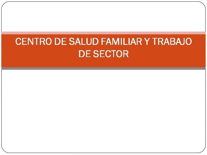 Centro de salud familiar y trabajo de sector - Centro de salud aravaca ...