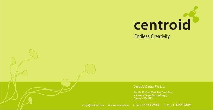 Centroid  Brochure