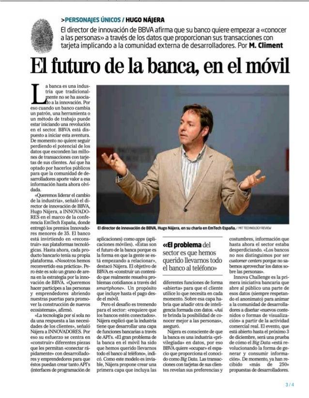 11/11/13  VALENCIA Prensa: Semanal (Lunes) Tirada: 14.466 Ejemplares Difusión: 10.646 Ejemplares Sección: OTROS  Valor: 1....