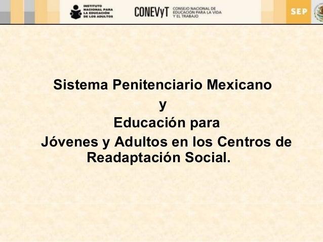 Centros de readaptación social en México