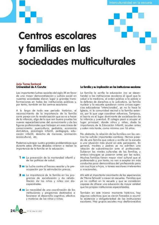 Interculturalidad en la escuelaJurjo TTorres SSantoméUniversidad dde AA CCoruñaLas importantes luchas sociales del siglo X...