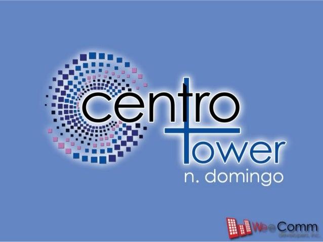 Centro Tower Condominium Cubao Quezon City