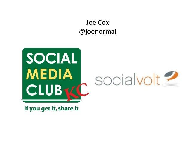 Joe Cox @joenormal