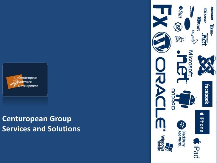 Centuropean GroupServices and Solutions