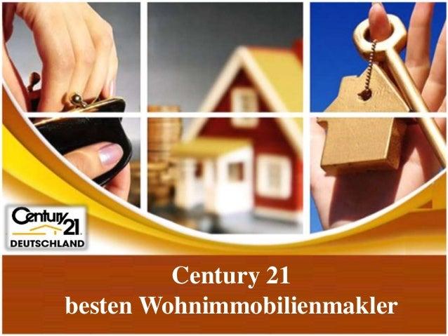 Century 21 besten Wohnimmobilienmakler
