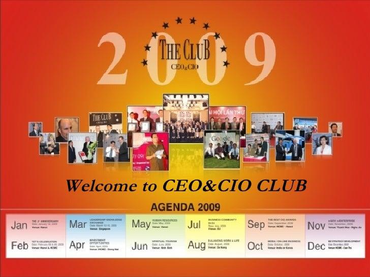 Ceo&Cio Club Introduction
