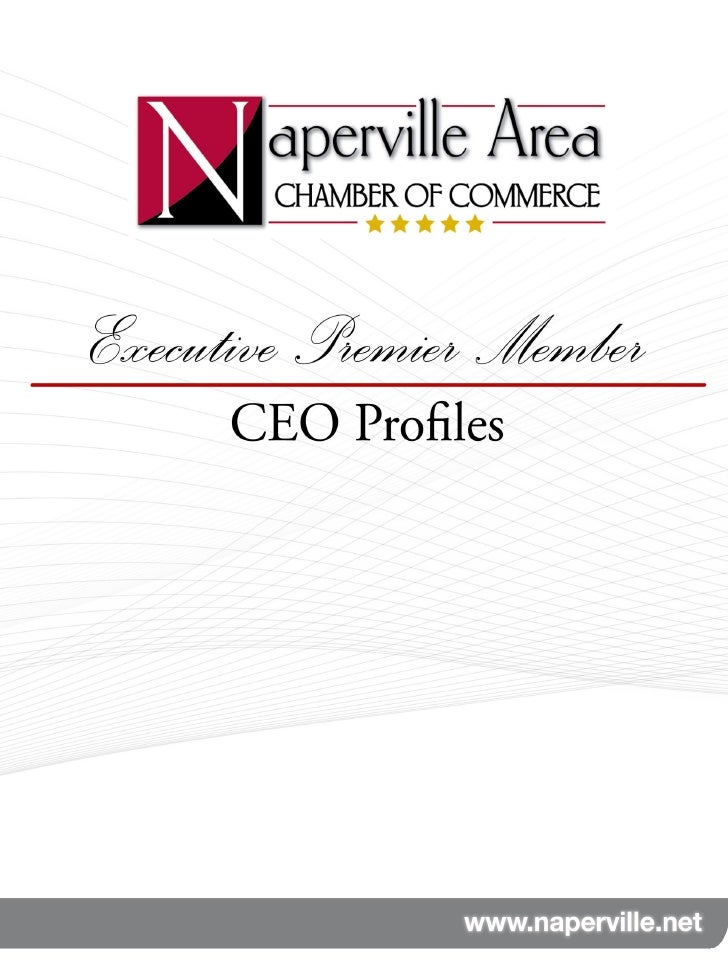 Chamber Executive Premier CEO Profiles