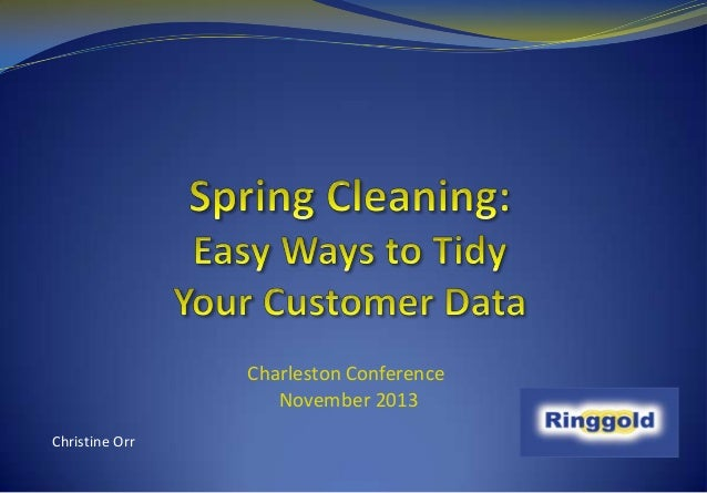 Spring Cleaning: Easy Ways to Tidy Your Customer Data