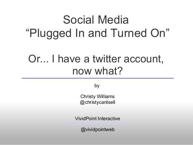 Cepg social-media-101 Geoff Hunt Silverdale