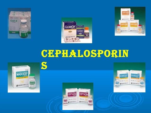 Cephalosporins 2