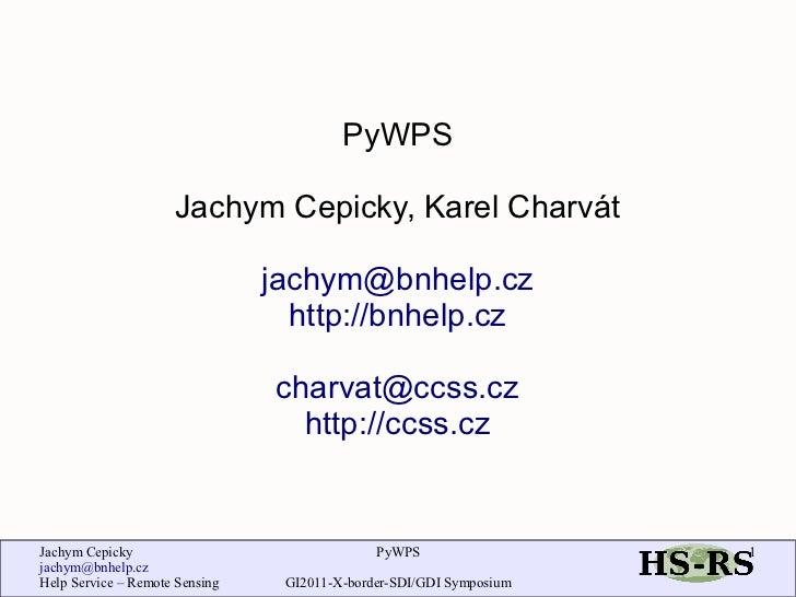 Cepicky charvat pdf_gi2011_pywps_final