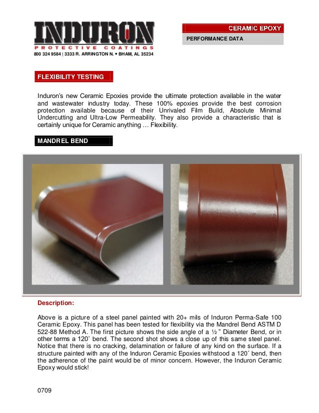 0709800 324 9584 | 3333 R. ARRINGTON N.  BHAM, AL 35234Induron's new Ceramic Epoxies provide the ultimate protection avai...