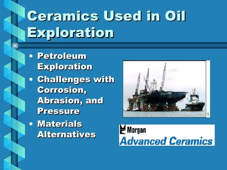 Ceramics In Oil Exploration