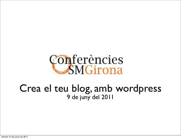 Conferència CINC: Wordpress