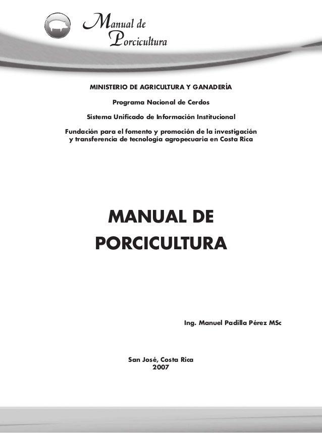 MINISTERIO DE AGRICULTURA Y GANADERÍAPrograma Nacional de CerdosSistema Unificado de Información InstitucionalFundación pa...