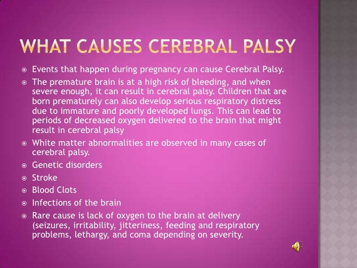 Cerebral palsy children symptoms
