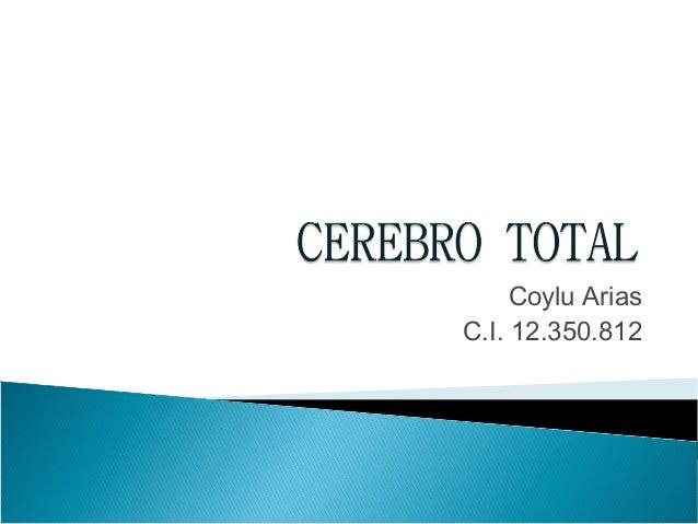 Coylu Arias C.I. 12.350.812