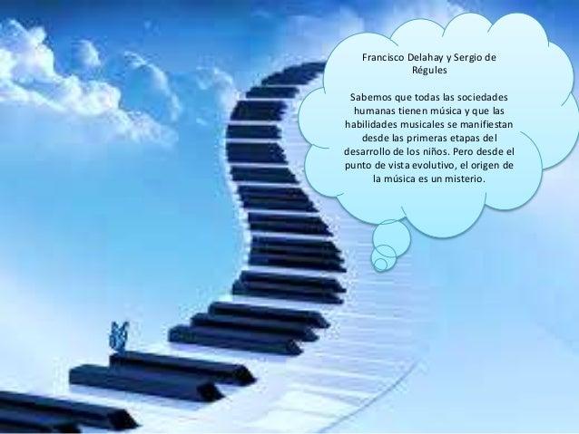 Escuchar una canción alegre<br /> puede subir nuestro animo , si<br /> oímos un tema deprimente,<br /> sentirnos pesimistas o, en el caso...