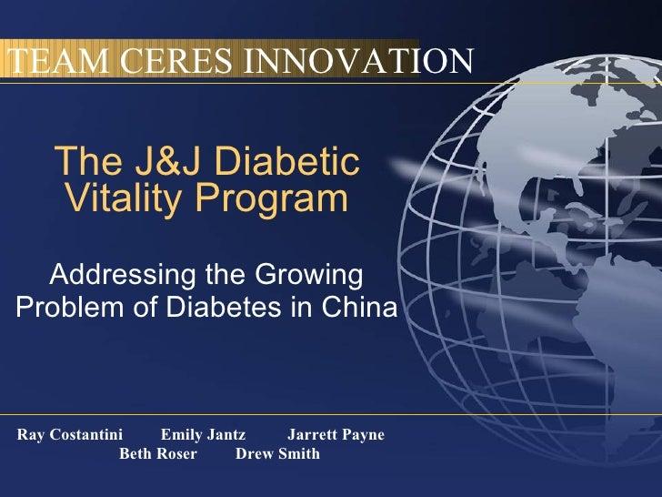 Addressing Diabetes in China