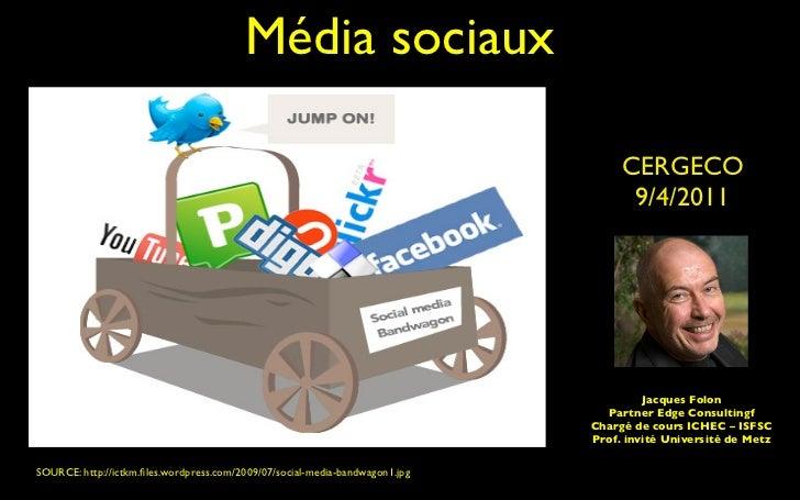 Média sociaux                                                                                   CERGECO                   ...
