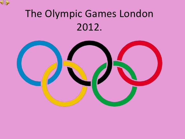 The Olympic Games London          2012.