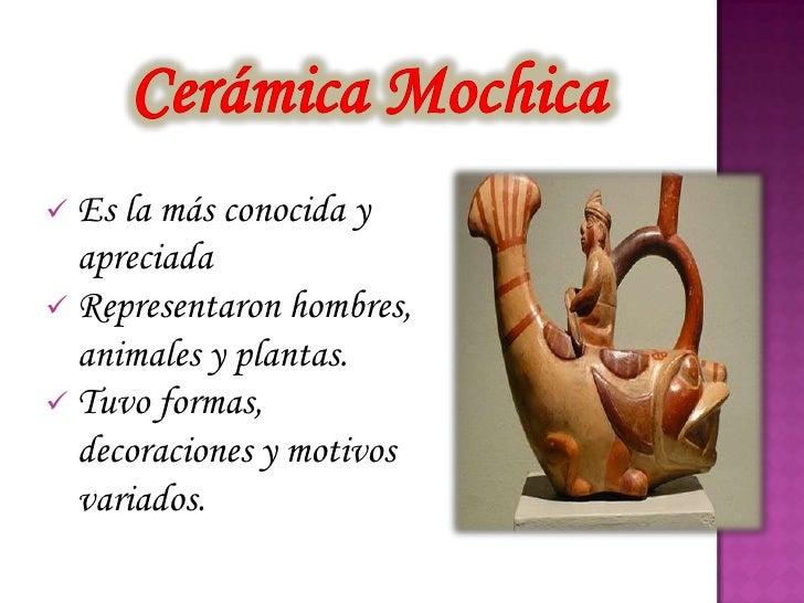 Cer mica mochica for Que es ceramica