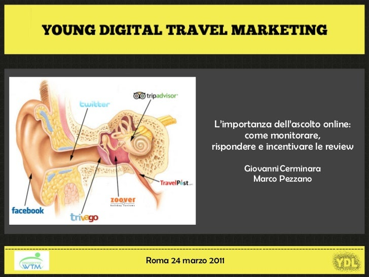 L'importanza dell'ascolto online: come monitorare, rispondere e incentivare le review – Giovanni Cerminara  e Marco Pezzano