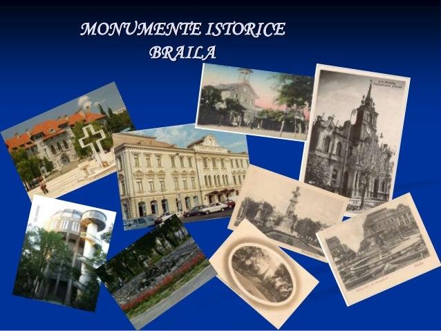 MONUMENTE ISTORICE     BRAILA