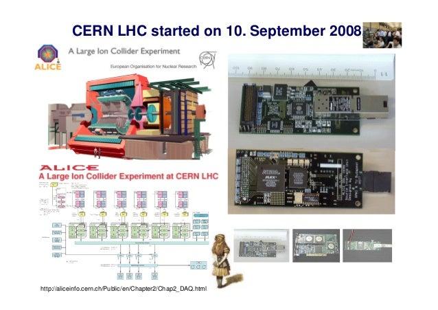CERN LHC started on 10. September 2008.  http://aliceinfo.cern.ch/Public/en/Chapter2/Chap2_DAQ.html