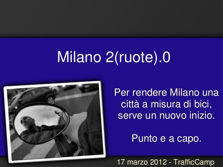 Milanodueruote - Daniele Cerra