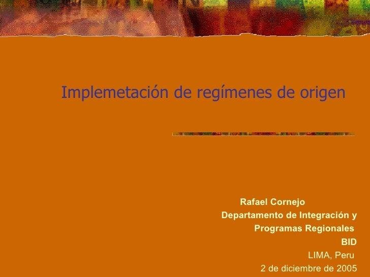 Certifacion y verificacion origen