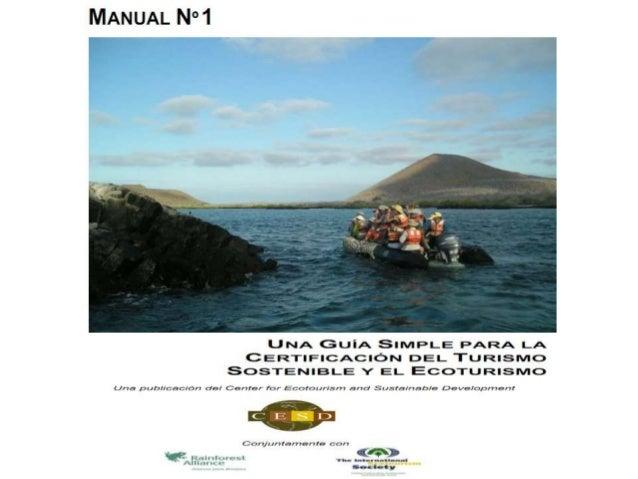 Certificación turismo sostenible cesd - Patricia Dueñas Castell
