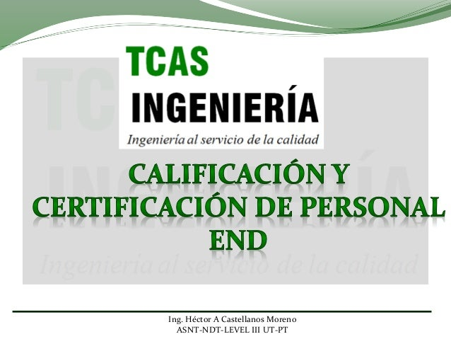 Certificacion personal end