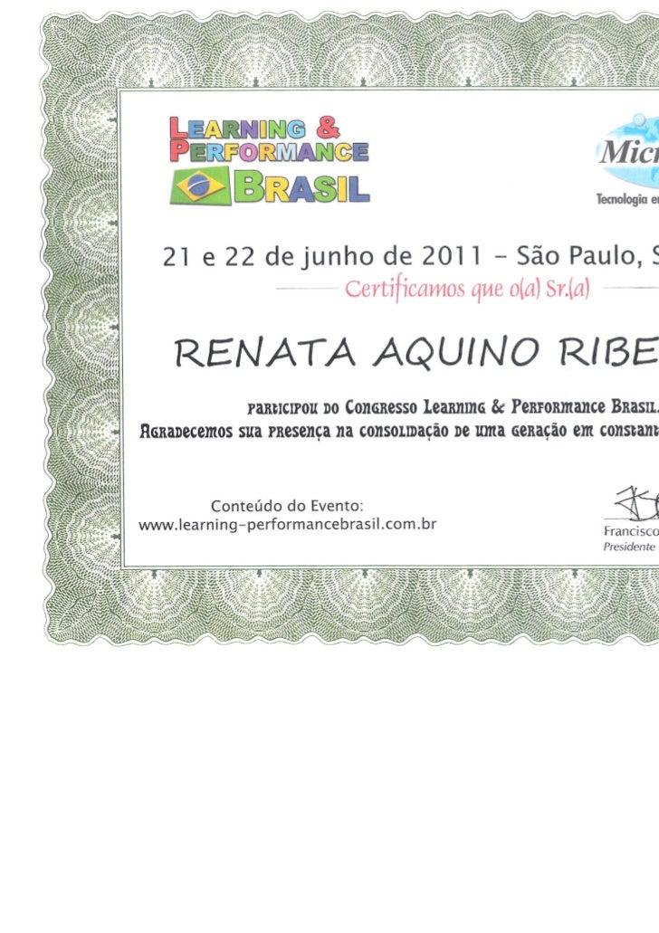 Certificado participacao elearning br 2011
