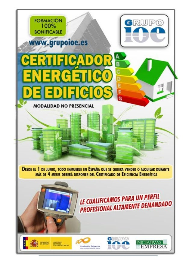 Prepararse como Certificador Energ  233 tico de edificiosPrepararse