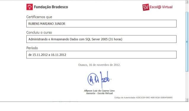 Certificado   Sql Server 2005