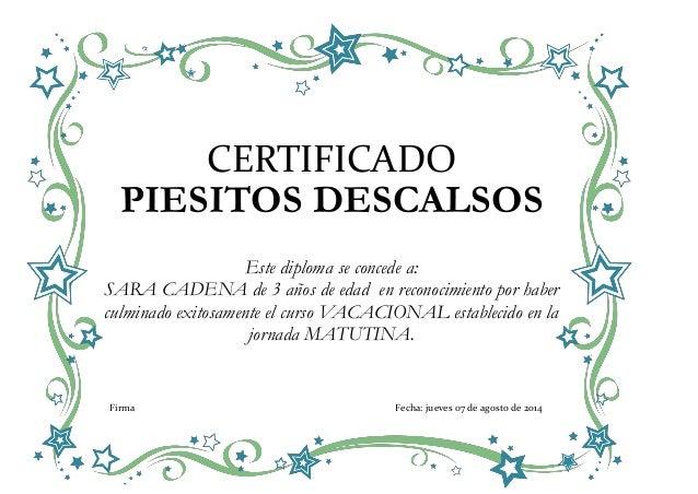Certificado tic