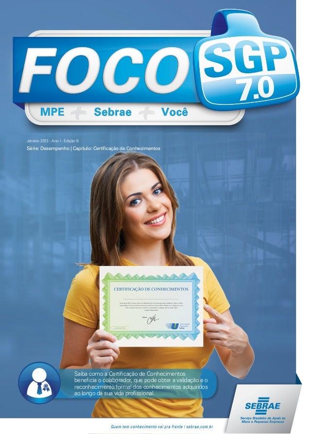 Fascículo 6 - Série Desempenho - Certificação de Conhecimentos