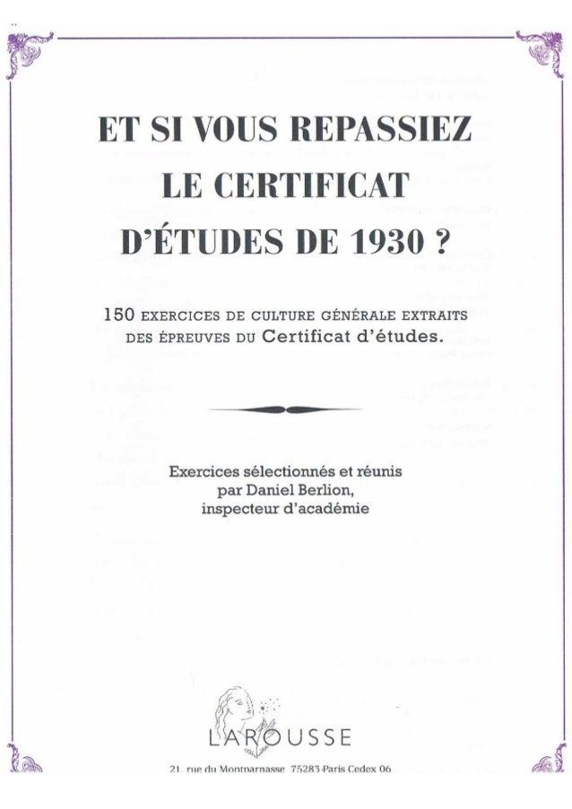 Certificatdetude1930