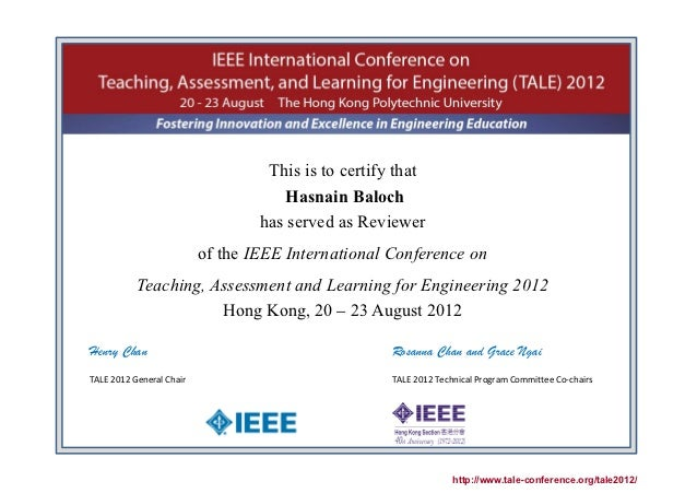 TALE 2012 IEEE Conference Certificate 33.signed
