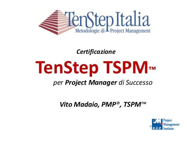 Certificazione tspm