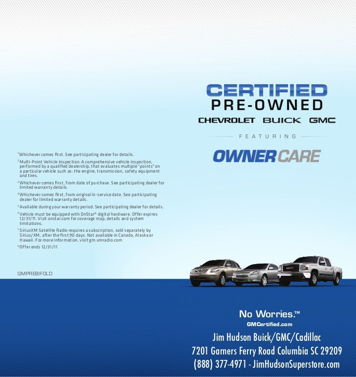 Certified Used Cars Columbia SC