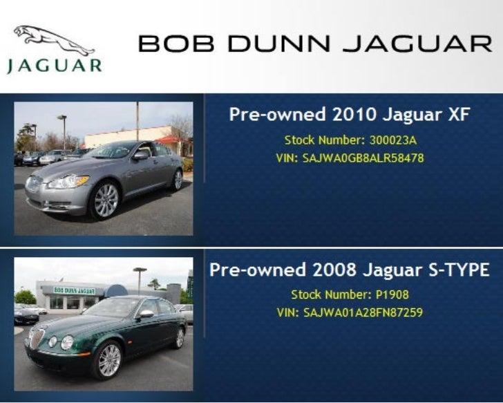Certified Pre-owned Jaguar Specials Raleigh NC | Bob Dunn Jaguar