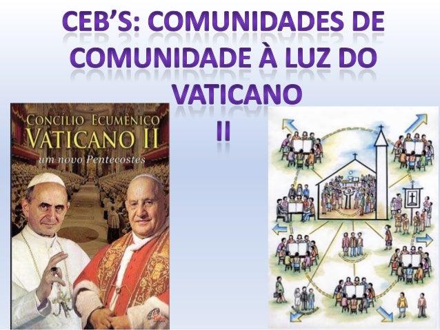 """O que é um Concílio?Um concílio é uma """"reunião"""" convocada peloPapa, entre todos os membros do mais alto clerocomo cardeais..."""