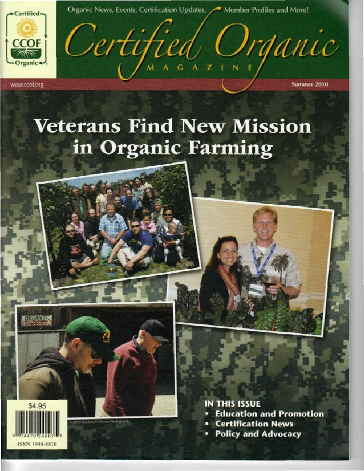 Veterans Find New Mission in Organic Farming